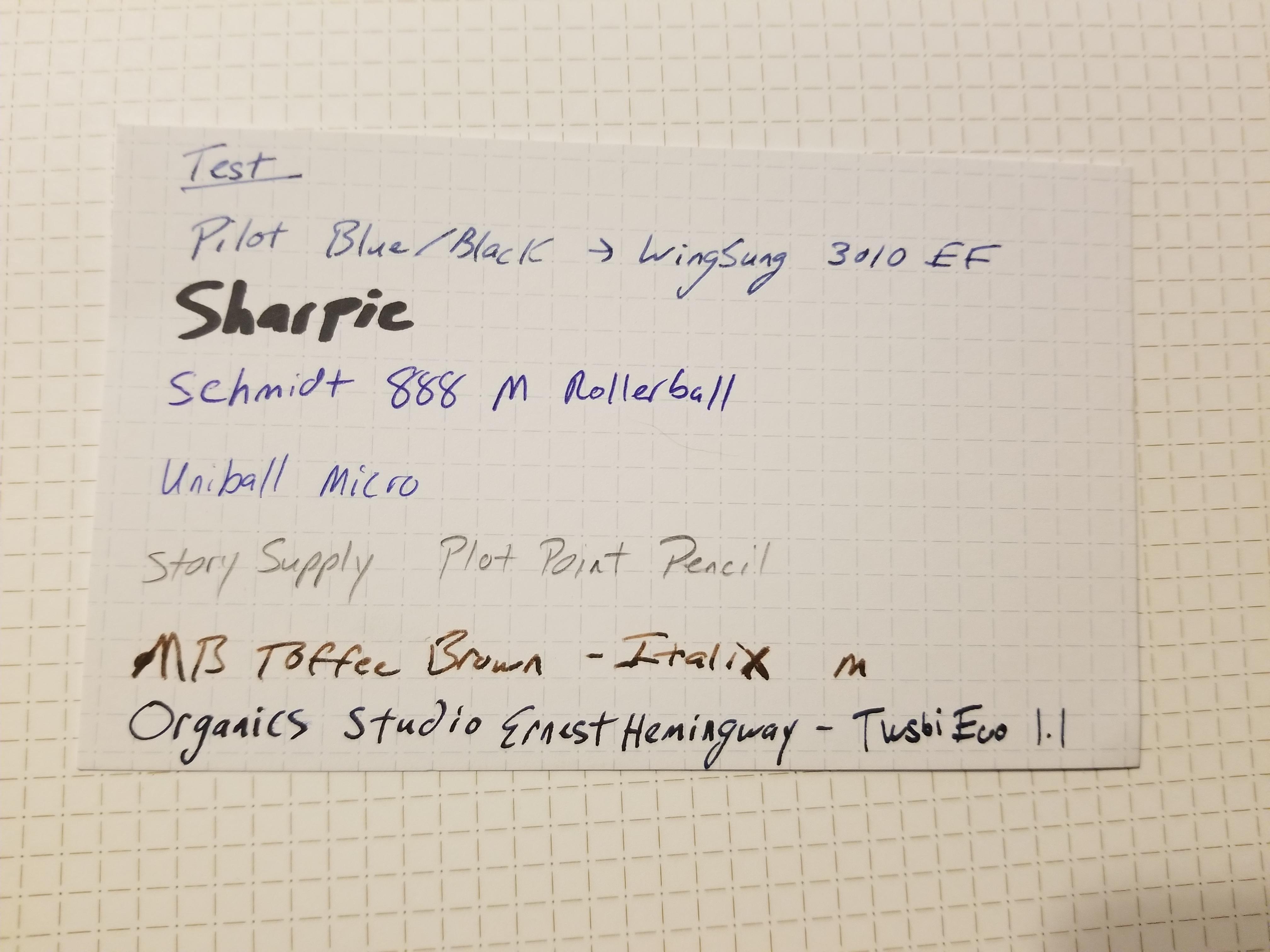 Nock Co Dotdash A5 Notebook And Notecards Pengeek13s Reviews Rollarball Fountain Pen Diagram B